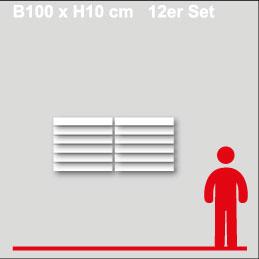 GewerkeschildB100xH10cm