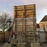 Preise für Bauschilder-Unterkonstruktion-Schilder-Bauzaunblende B04