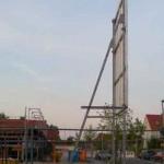Preise für Bauschilder-Unterkonstruktion-Schilder-Bauzaunblende B07