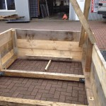 Preise für Bauschilder-Unterkonstruktion-Schilder-Bauzaunblende B25