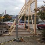 Preise für Bauschilder-Unterkonstruktion-Schilder-Bauzaunblende B28