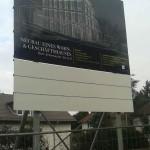 Preise für Bauschilder-Unterkonstruktion-Schilder-Bauzaunblende B29