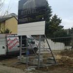 Preise für Bauschilder-Unterkonstruktion-Schilder-Bauzaunblende B36