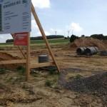 Preise für Bauschilder-Unterkonstruktion-Schilder-Bauzaunblende B41