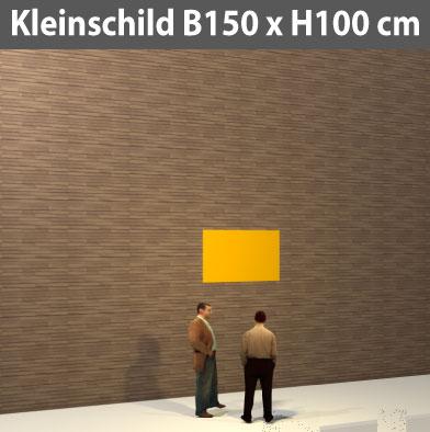 Preise für Kleinschild-Bauschild-150x100