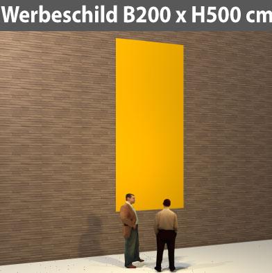 Preise für Kleinschild-Bauschild-200x500