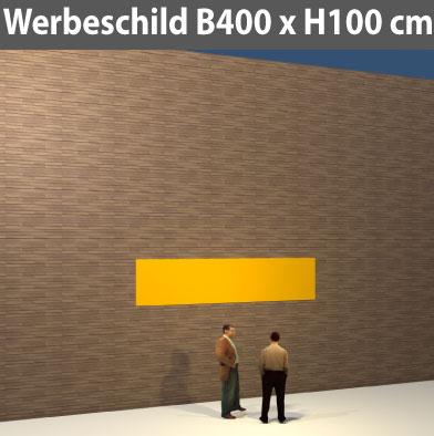 Preise für Werbeschild-Bauschild-400x100