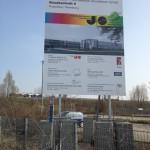 Preise für Bauschild Unterkonstruktion Stahl von Bauschild-miete Referenzfotos-3