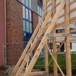 Preise für Bauschilder-Unterkonstruktion-Schilder-Bauzaunblende B18