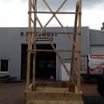 Preise für Bauschilder-Unterkonstruktion-Schilder-Bauzaunblende B26