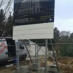 Preise für Bauschilder-Unterkonstruktion-Schilder-Bauzaunblende B30
