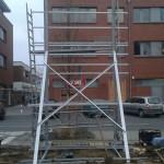 Preise für Bauschilder-Unterkonstruktion-Schilder-Bauzaunblende B31