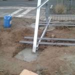 Preise für Bauschilder-Unterkonstruktion-Schilder-Bauzaunblende B32