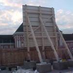Preise für Bauschilder-Unterkonstruktion-Schilder-Bauzaunblende B37