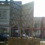Preise für Bauschilder-Unterkonstruktion-Schilder-Bauzaunblende B45