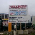 Preise für Werbegestelle-Unterkonstruktion-Bauschilder-Schilder E38