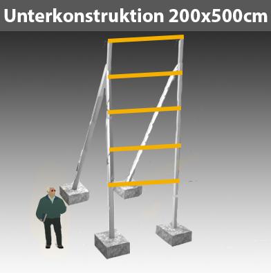 Preise für Werbegestelle-Unterkonstruktion-Bauschilder-Schilder F10
