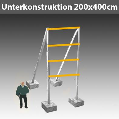 Preise für Werbegestelle-Unterkonstruktion-Bauschilder-Schilder F11