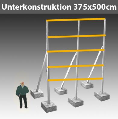 Preise für Werbegestelle-Unterkonstruktion-Bauschilder-Schilder F25