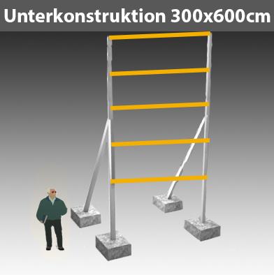 Preise für Werbegestelle-Unterkonstruktion-Bauschilder-Schilder F27