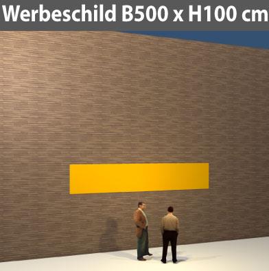 Preise für Werbeschild-Bauschild-500x100
