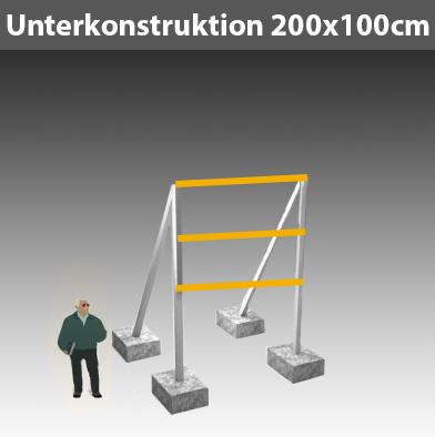 Unterkonstruktion-für-Bauschild_200x100cm