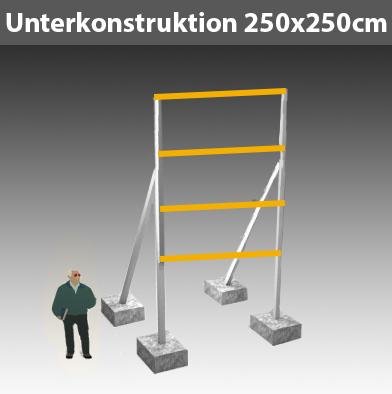 Unterkonstruktion-für-Bauschild_250x250cm