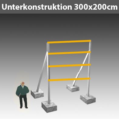 Unterkonstruktion-für-Bauschild_300x200cm