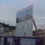 Preise für Bauschilder-Unterkonstruktion-Schilder-Bauzaunblende B39