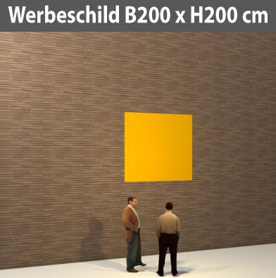 Preise für Werbeschild-Bauschild-200xh200