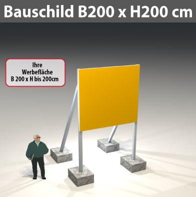 Bauschild_200x200cm