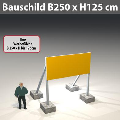 Bauschild_250x125cm