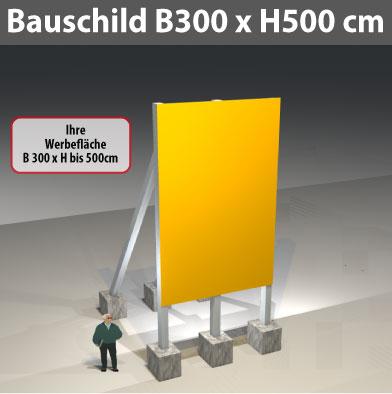 bauschild_300x500