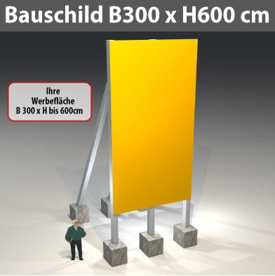 bauschild_300x600