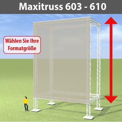maxitruss 603 - 610 Alutraversen-Großwerbewände