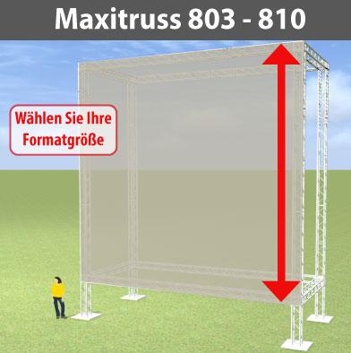 maxitruss 803-810 Alutraversen-Großwerbewände