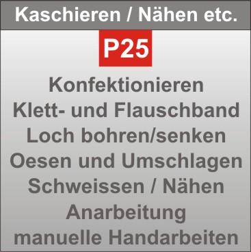 P25-Kaschieren