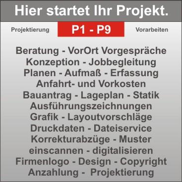 Projekt-Start - Citmax startet Ihr Projekt und projektiert für Sie. Komfort - FullService