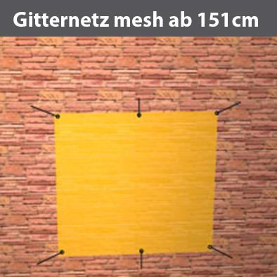 Gitternetzplane mesh ab H151cm