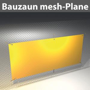 Bauzaun mesh-Plane