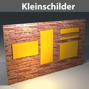 Kleinschilder bis 1qm