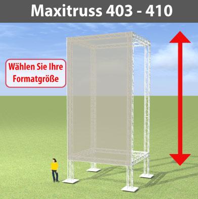 maxitruss 403 - 410 Alutraversen-Großwerbewände