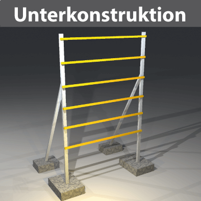 Unterkonstruktionen