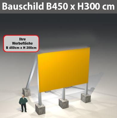 bauschild-b450-h300